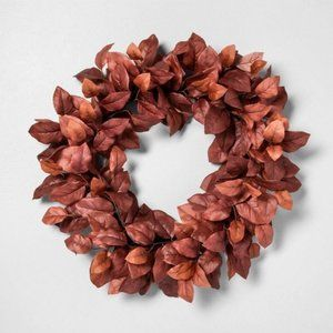 New Faux Aspen Leaves Wreath by Hearth and Hand